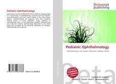 Bookcover of Pediatric Ophthalmology