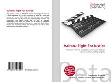 Bookcover of Vairam: Fight For Justice