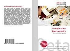 Portada del libro de Protein Mass Spectrometry