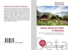 Capa do livro de Native American Tribes in Nebraska