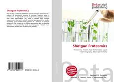 Bookcover of Shotgun Proteomics