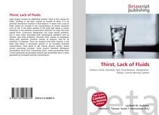 Copertina di Thirst, Lack of Fluids