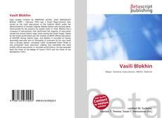 Bookcover of Vasili Blokhin