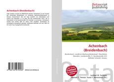 Обложка Achenbach (Breidenbach)