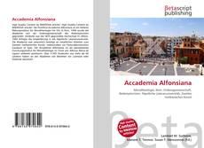 Couverture de Accademia Alfonsiana