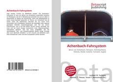 Обложка Achenbach-Fahrsystem