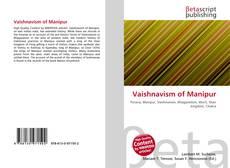 Portada del libro de Vaishnavism of Manipur