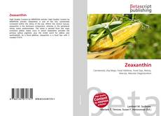 Buchcover von Zeaxanthin