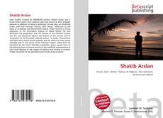Buchcover von Shakib Arslan
