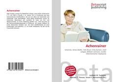 Capa do livro de Achenrainer