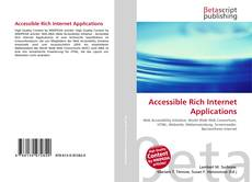 Bookcover of Accessible Rich Internet Applications
