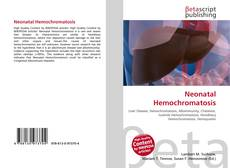 Bookcover of Neonatal Hemochromatosis