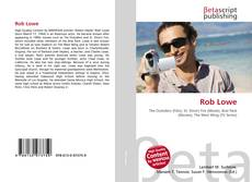 Capa do livro de Rob Lowe