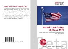 Обложка United States Senate Elections, 1972