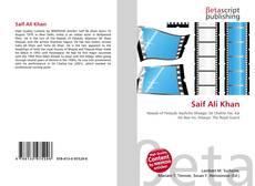 Portada del libro de Saif Ali Khan