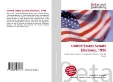 Обложка United States Senate Elections, 1996