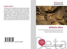 Обложка Wilhelm Marx