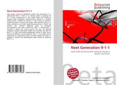 Next Generation 9-1-1 kitap kapağı