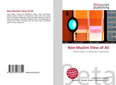 Capa do livro de Non-Muslim View of Ali