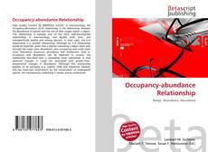 Bookcover of Occupancy-abundance Relationship
