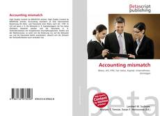 Capa do livro de Accounting mismatch