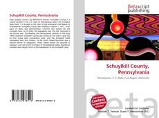 Bookcover of Schuylkill County, Pennsylvania