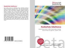 Bookcover of Nadezhda Udaltsova