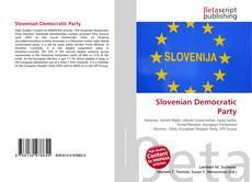 Copertina di Slovenian Democratic Party
