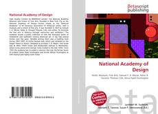 Bookcover of National Academy of Design