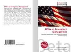 Couverture de Office of Emergency Management