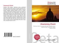 Portada del libro de Znamenny Chant