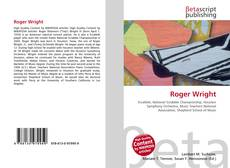 Bookcover of Roger Wright