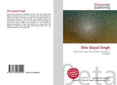 Bookcover of Shiv Dayal Singh