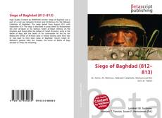 Capa do livro de Siege of Baghdad (812–813)