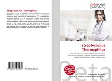Bookcover of Streptococcus Thermophilus