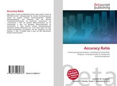 Portada del libro de Accuracy Ratio