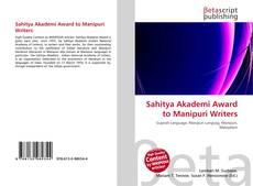 Borítókép a  Sahitya Akademi Award to Manipuri Writers - hoz