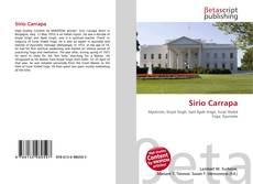 Bookcover of Sirio Carrapa