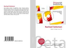 Bookcover of Rachael Solomon
