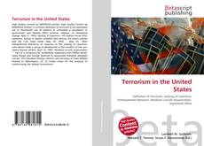 Bookcover of Terrorism in the United States