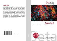 Buchcover von Paper Rad