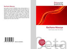 Bookcover of Rachana Maurya