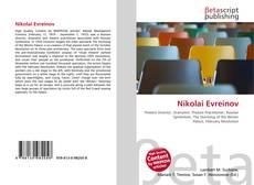 Bookcover of Nikolai Evreinov