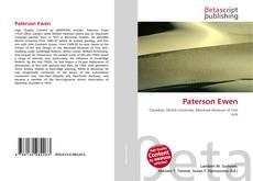 Couverture de Paterson Ewen