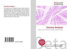 Bookcover of Sensory Analysis