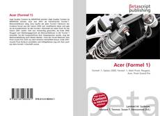 Bookcover of Acer (Formel 1)