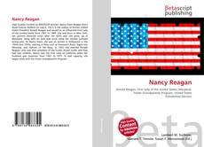 Capa do livro de Nancy Reagan