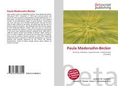 Buchcover von Paula Modersohn-Becker