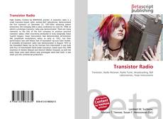 Bookcover of Transistor Radio