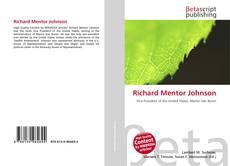 Bookcover of Richard Mentor Johnson